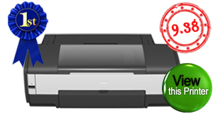 op rated wide format printer. Epson Stylus Photo 1400. Click to view Stylus Photo1400 Wide format printer.