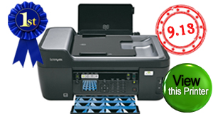 Top rated inkjet printer. Lexmark Prospect Pro205. Click to view Lexmark Prospect Pro205 inkjet printer.