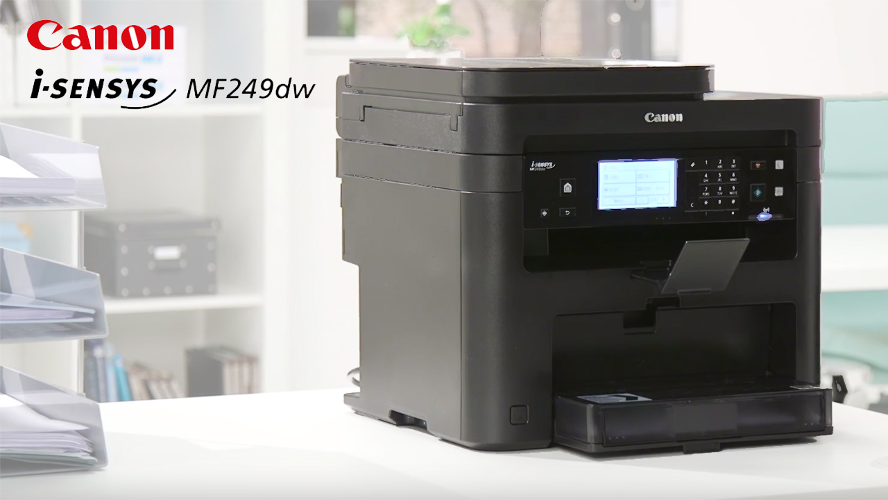 Canon i-SENSYS MF249DW A4 Mono multifuction Printer