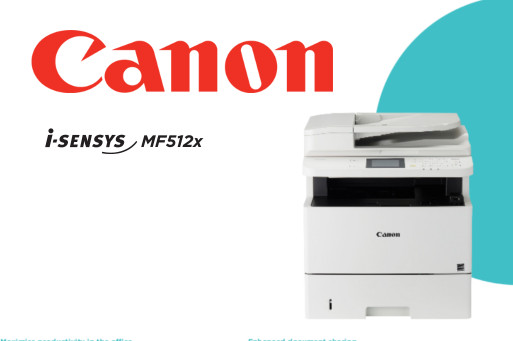 Canon i-SENSYS MF512x A4 Multifunction Printer