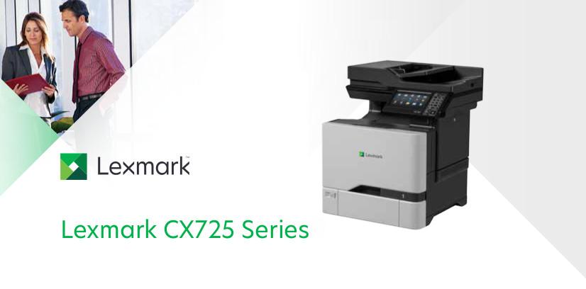 Lexmark Cx725dhe A4 Multifunction Printer