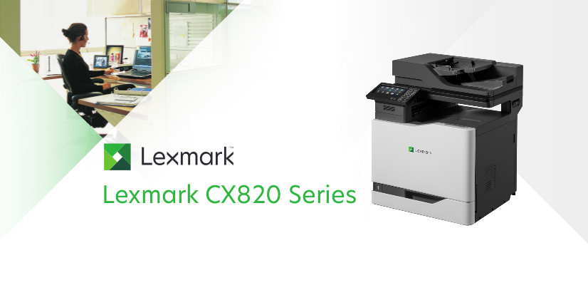 Lexmark CX820de A4 Multifunction Printer