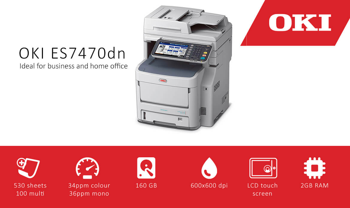 Oki ES7470dn A4 Multifunction Printer