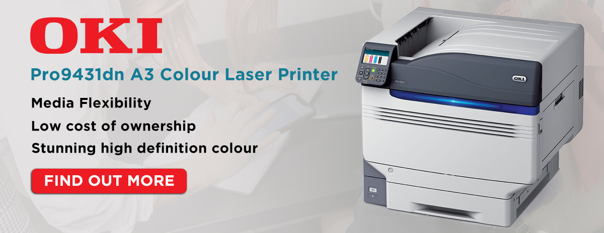 Oki Pro9431dn A3 Colour Laser Printer