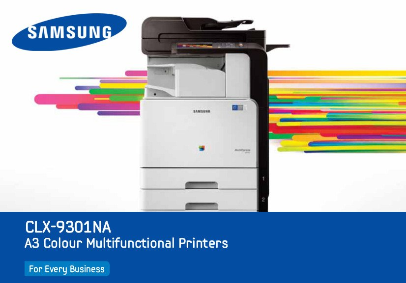Samsung CLX-9301NA A3 Multifunction Printer