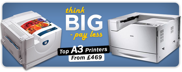 Best priced A3 Laser printers!