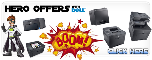 Hero offers on colour laser printers from Dell