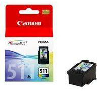 Colour (CMY) CL-511 Ink Cartridge for the Canon iP2772 A4 Inkjet Printer