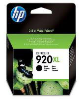 920XL Black Officejet Ink Cartridge (1,200 pages) for the HP Officejet 7500a A3+ Multifunction Printer