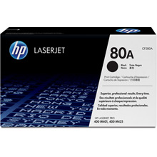 HP Laserjet Pro 400 M425dw 80A Toner Cartridge (2,700 pages) for the HP LaserJet Pro 400 M401a A4 Mono Laser Printer