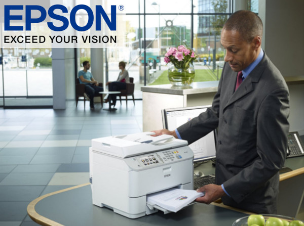 Epson Workforce Pro Wf 5690dwf A4 Multifunction Printer
