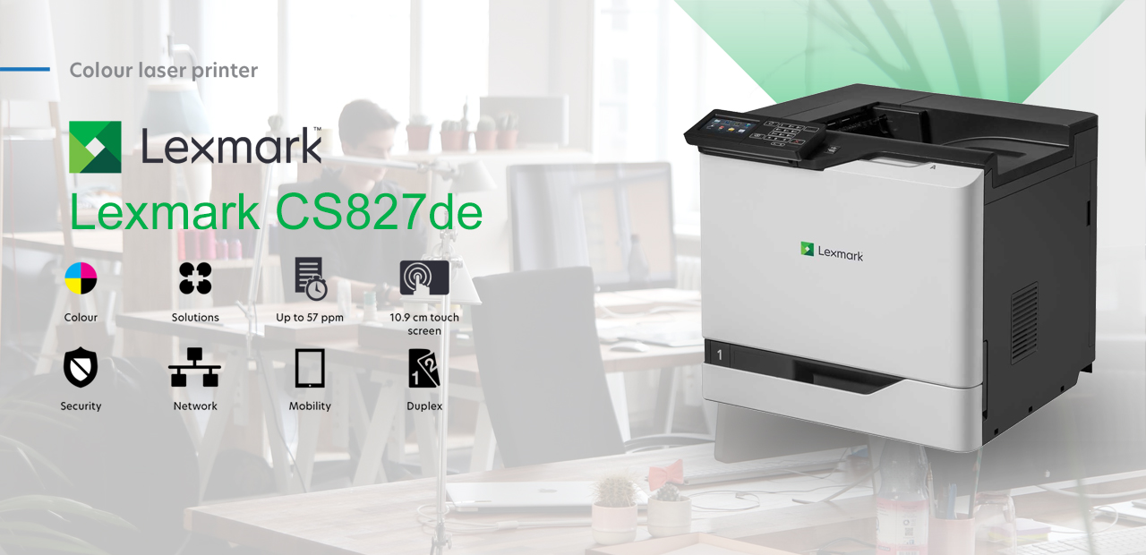 Lexmark CS827de Colour Laser Printer