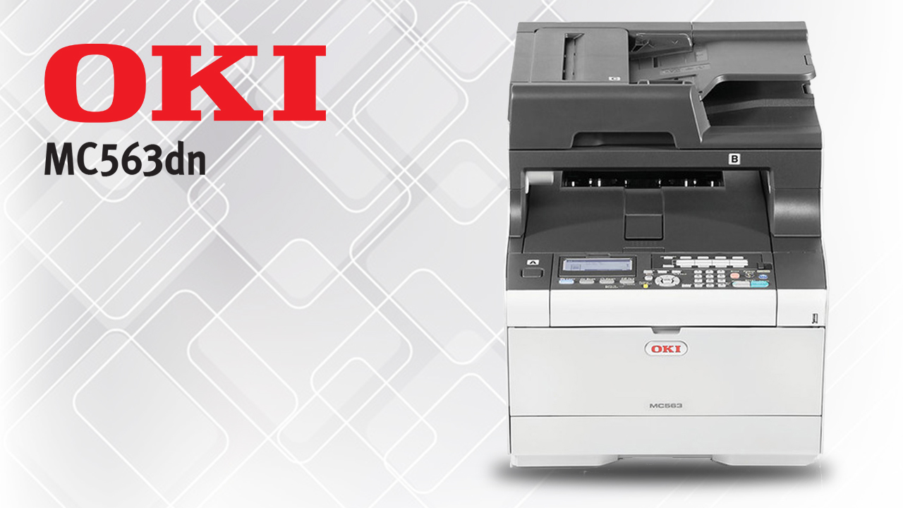 Oki MC563DN A4 Colour multifunction Laser Printer A4 Multifunction Printer