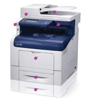 Xerox Workcentre 6605DN A4 Multifunction Printer