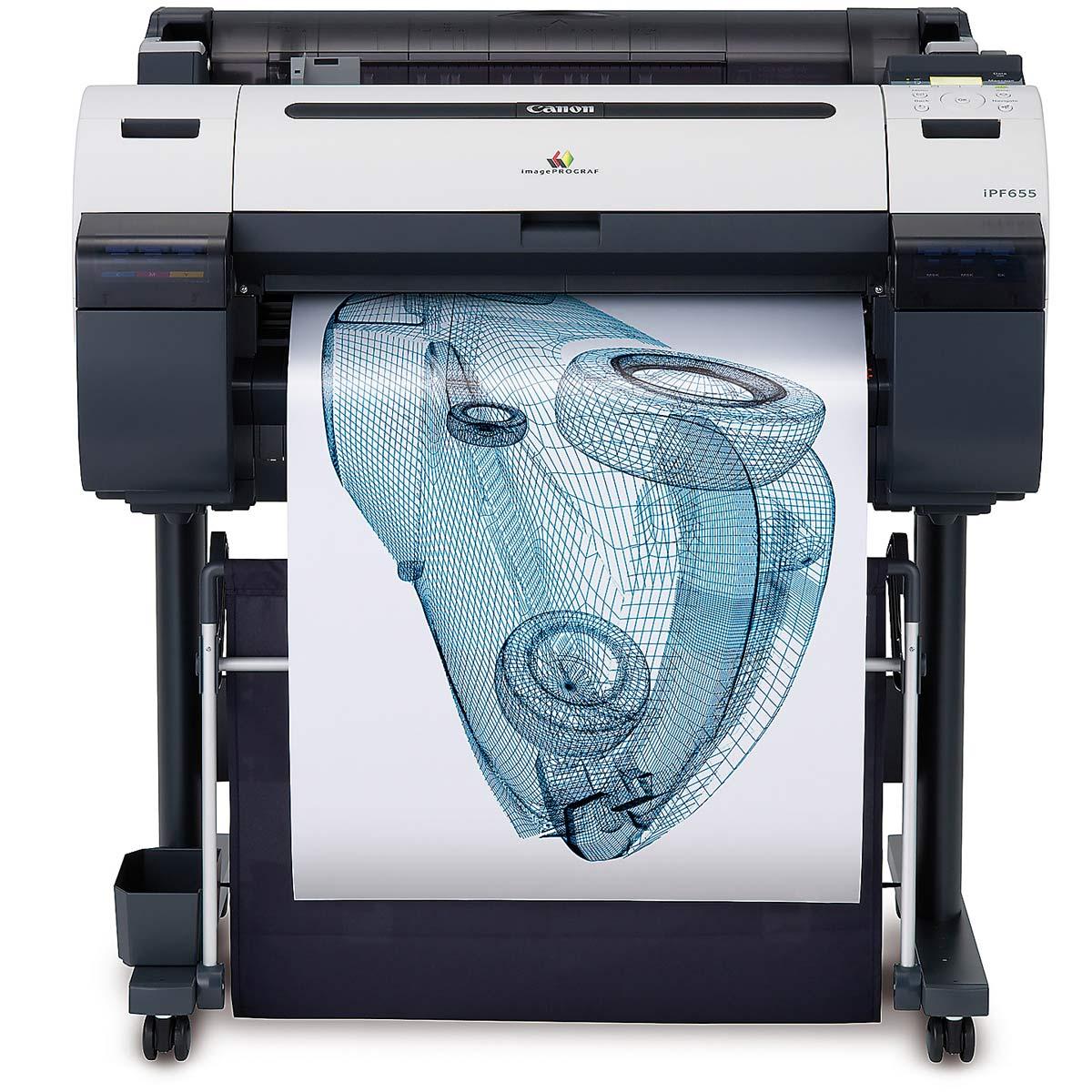 Canon Ipf655 A1 Wide Printer