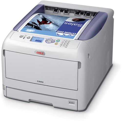Oki C822n A3 Colour Laser Printer