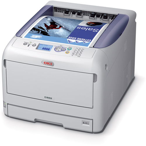 Oki C822dn Colour Laser printer