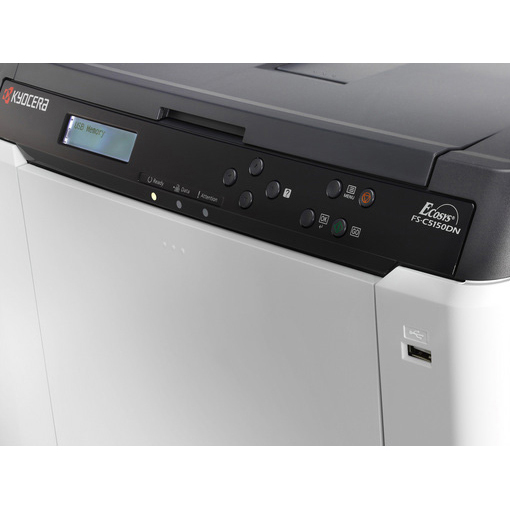 kyocera fs c5150dn a4 colour laser printer. Black Bedroom Furniture Sets. Home Design Ideas