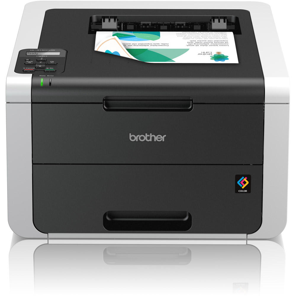 Brother CDNW A4 Colour Laser Printer