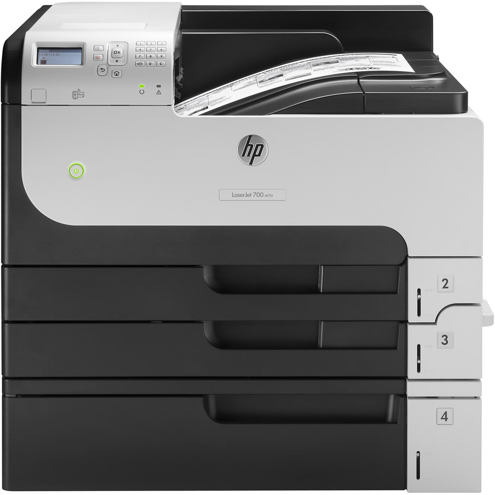 HP Enterprise 700 M712xh A3 Mono Laser Printer