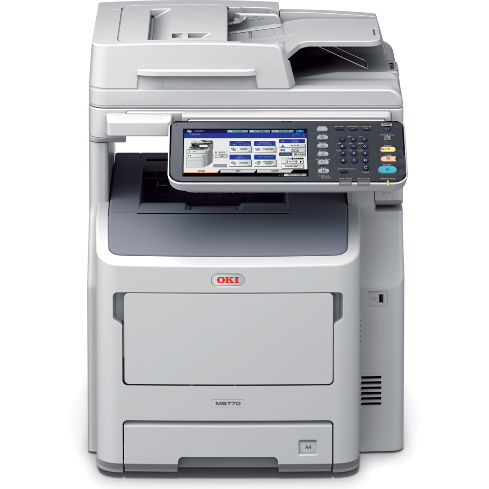 OKI MB770dn A4 Multifunction Printer