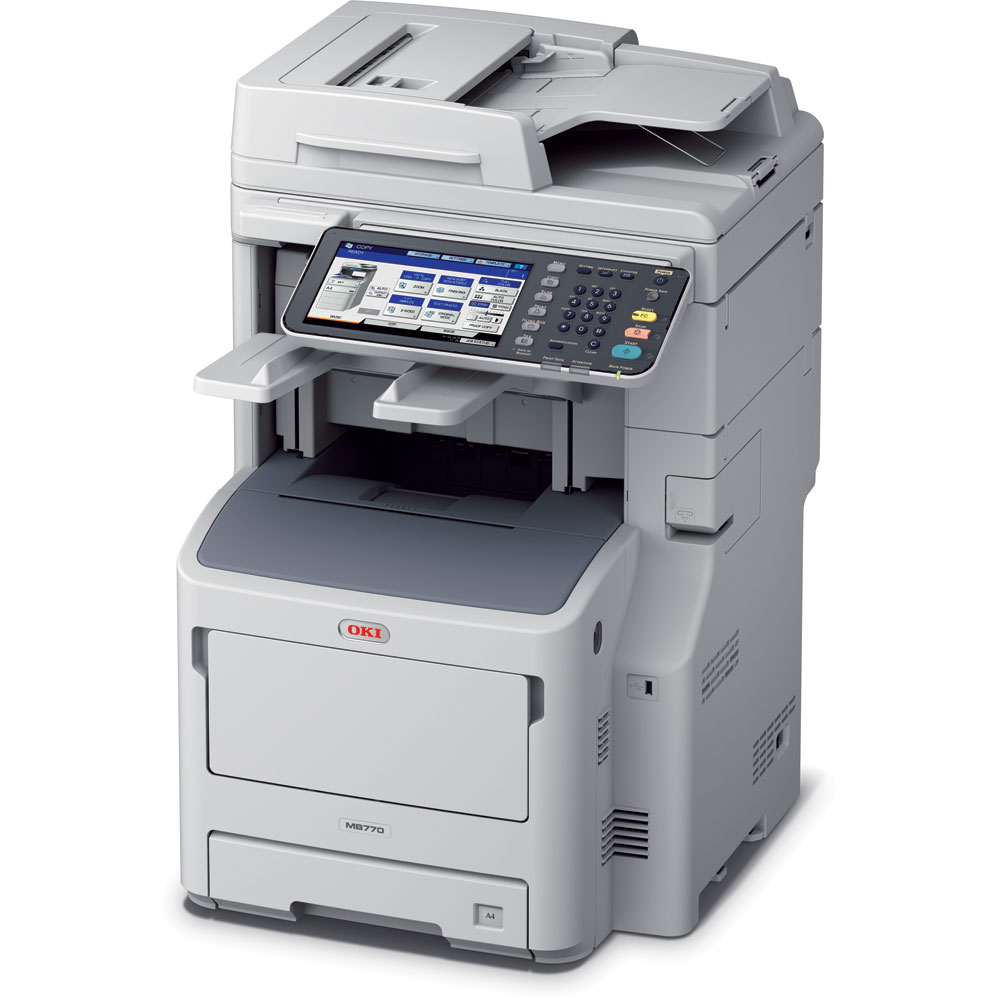 OKI MB770dfnfax A4 Multifunction Printer