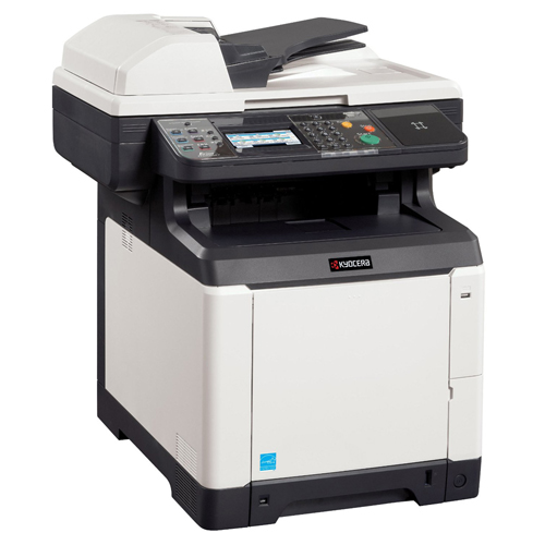 how to connect kyocera printer to network