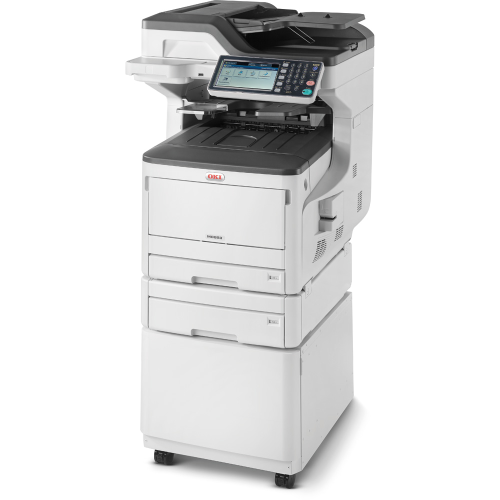 Oki MC853dnct A3 Multifunction Printer