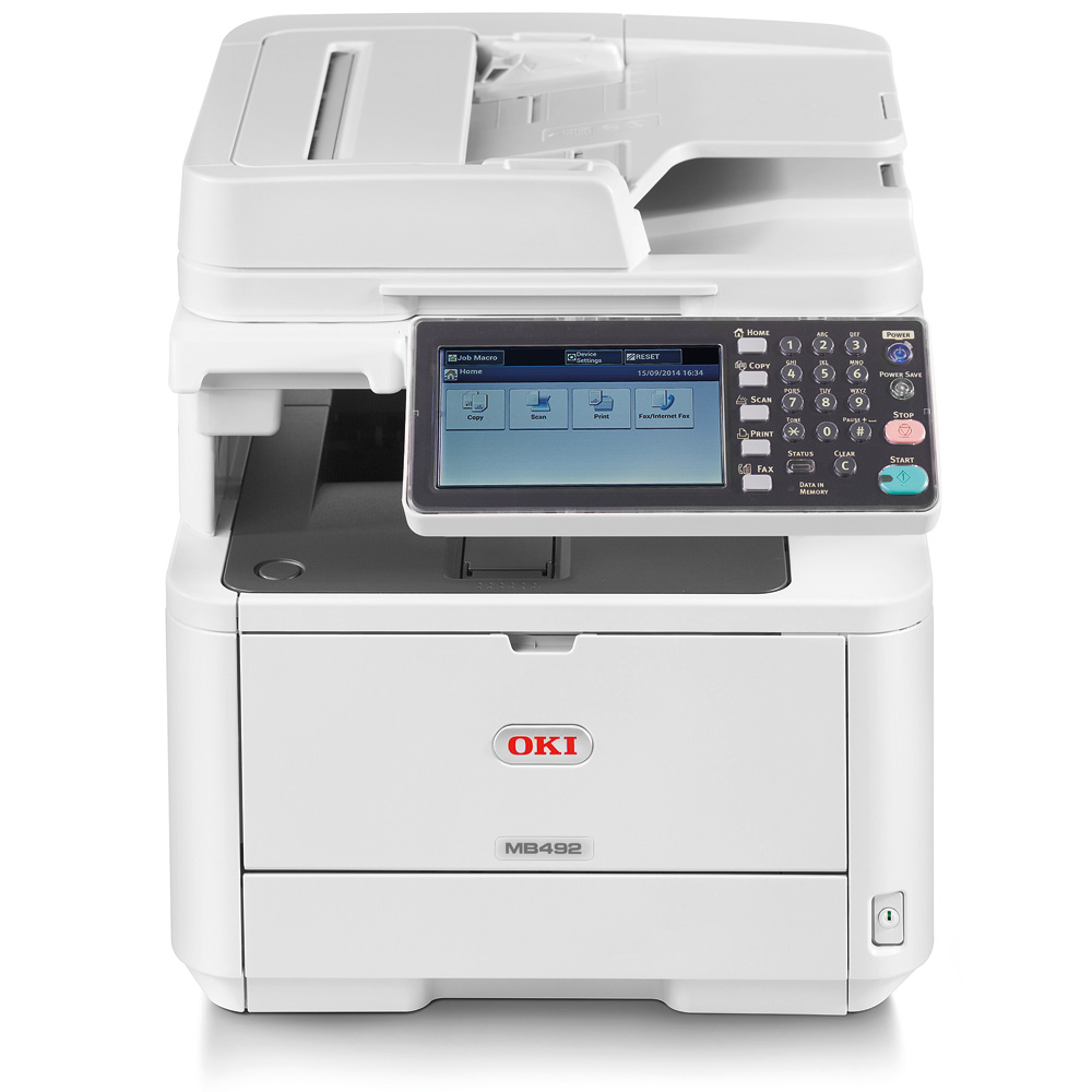 Oki MB492dn A4 Multifunction Printer