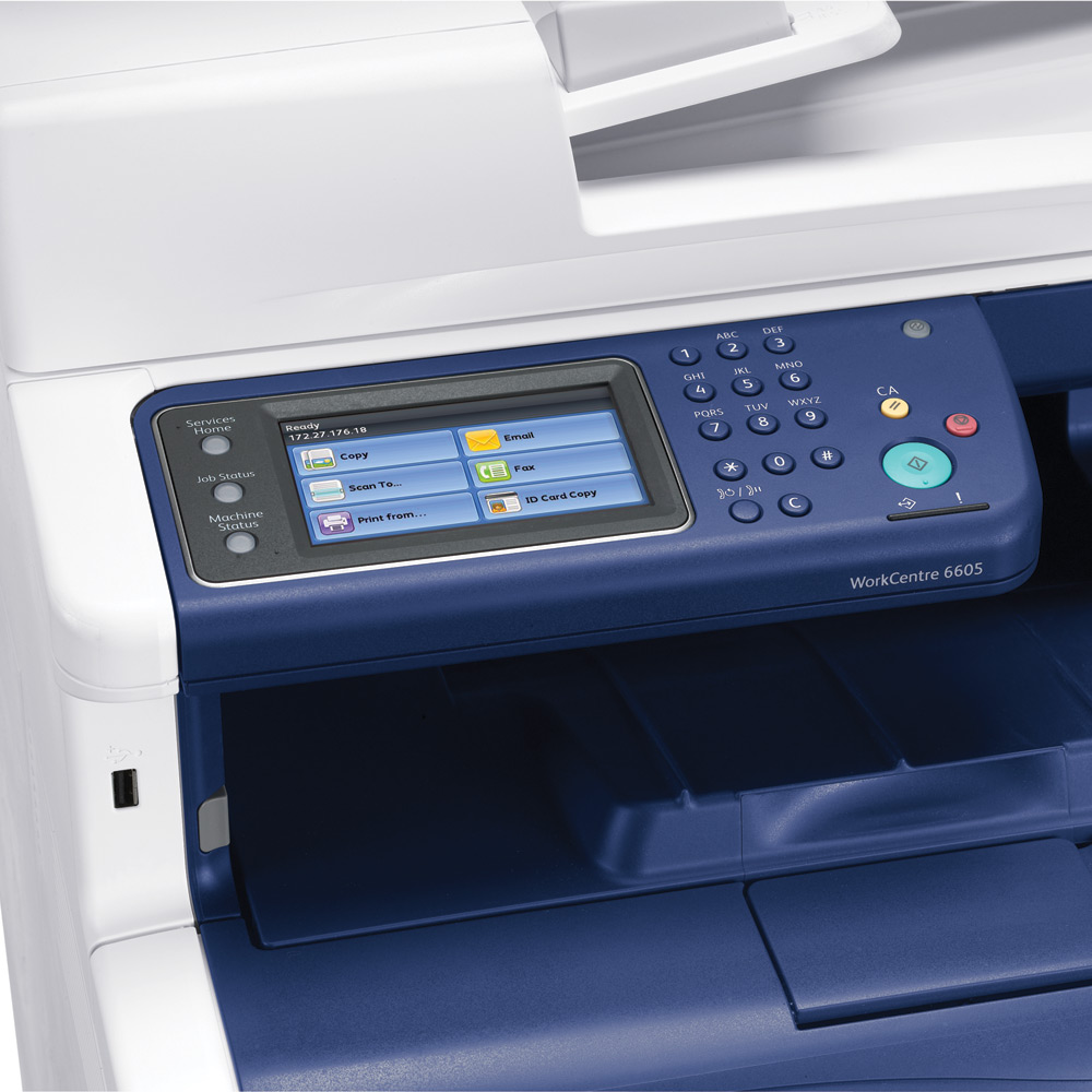 Xerox Workcentre 6605DN + C Pack Offer A4 Multifunction Printer