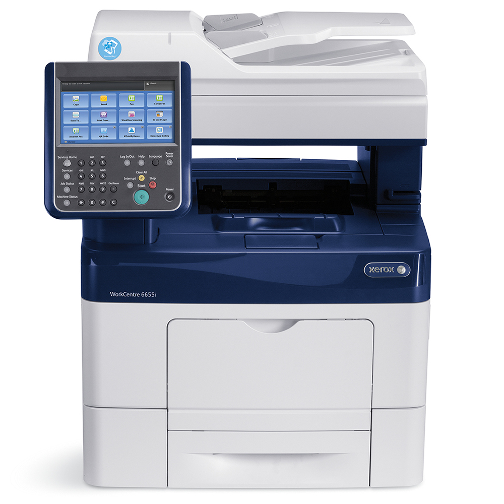 Xerox Workcentre 6655i A4 Multifunction Printer