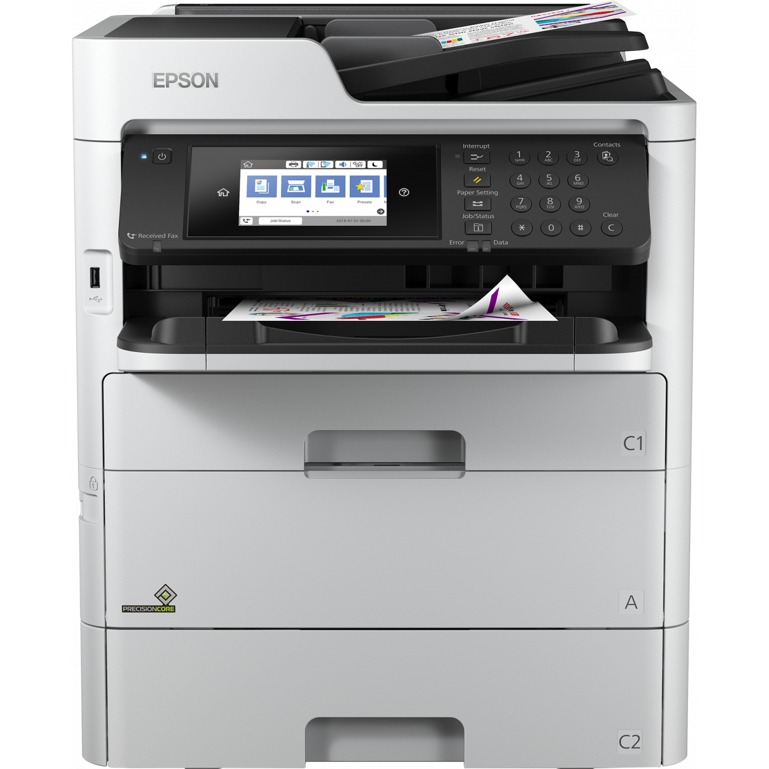 Epson WorkForce Pro WF-C579RDTWF A4 Multifunction Printer